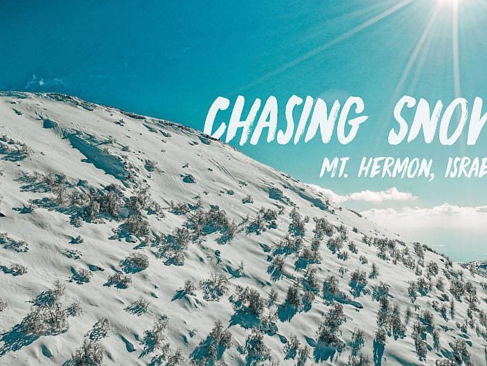 Chasing Snow - Mt. Hermon, Israel
